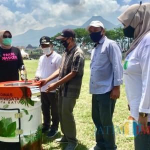 Dinas Pariwisata Kota Batu Siap Distribusikan 78 Unit Wastafel