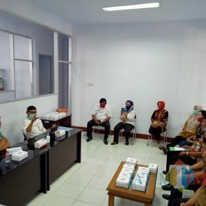 Dispendukcapil Kediri Studi Banding Adminduk ke Kabupaten Blitar, Ini yang Dipelajari