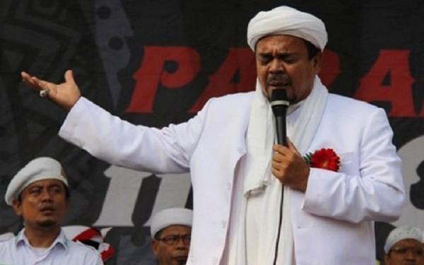 Habib Rizieq Shihab (Foto: iNews)