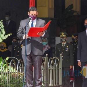 Peringati Hari Pahlawan, Wali Kota Kediri: Berjuang Tidak Hanya Mengangkat Senjata