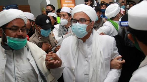 Habib Rizieq Shihab (Foto: Suara.com)