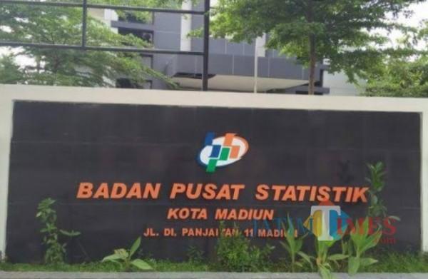 Kantor Badan Pusat Pusatistik Kota Madiun.