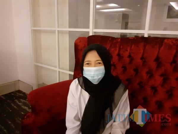 Kasi Kesga (Kesehatan Keluarga) dan Gizi Dinkes Kota Malang dr Dyah Inarsih. (Arifina Cahyanti Firdausi/MalangTIMES).