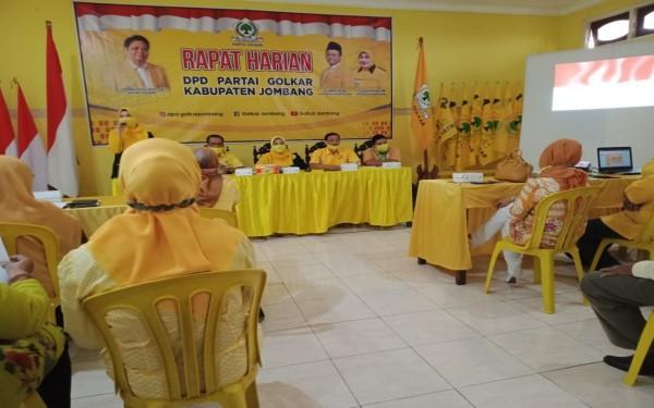 Kumpulkan Pengurus Baru, Partai Golkar di Jombang Mulai Panasi Mesin