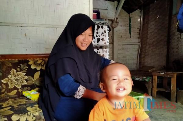 Cerita Pilu Istri Korban Meninggal Kecelakaan Maut Proyek RSI Unisma