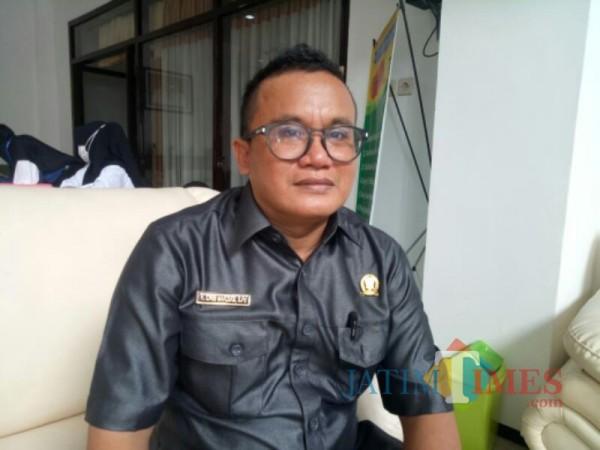 H. Idris Maruqi S.Pd, Sekretaris DPC Partai Demokrat Lumajang (Foto : Moch. R. Abdul Fatah / Jatim TIMES)