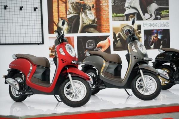 Honda Scoopy Generasi Terbaru Resmi Meluncur, Terdapat 4 Varian dan 8 Warna