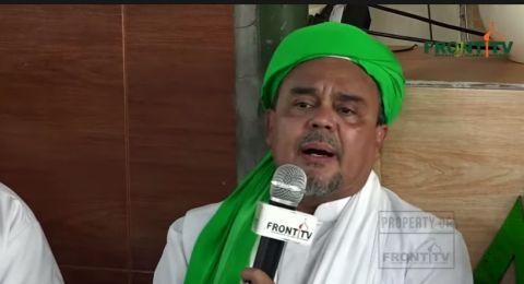 Habib Rizieq Shihab (Foto: YouTube Front TV)