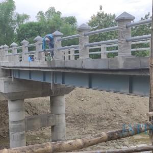 Mudahkan Akses Hasil Pertanian, Pemdes Kedungrejo Bangun Jembatan Rp 1,4 Miliar