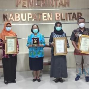 Kabupaten Blitar Raih Empat Penghargaan dalam STBM Award 2020 dari Kemenkes