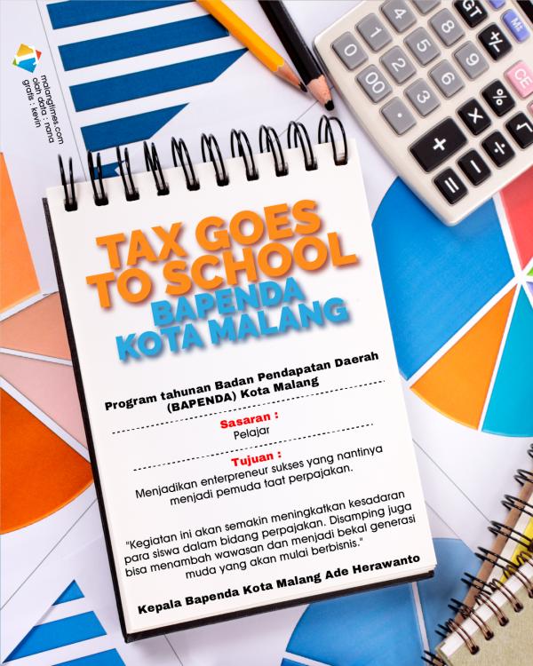 Tax Goes To School, Bapenda Kota Malang Edukasi Pelajar untuk Berbisnis