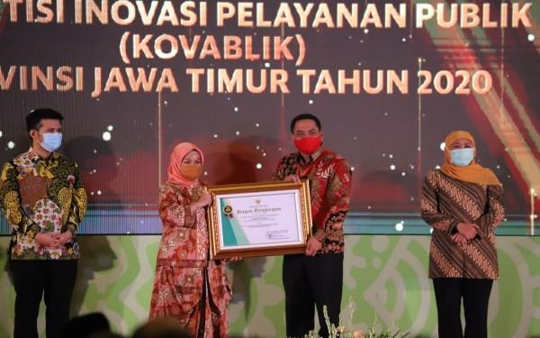 Pemkab Jombang Sabet Dua Penghargaan dari Gubernur Jatim