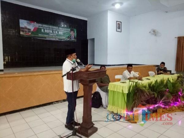 H. Rofik Minta Barisan Muda Tretan Dhibik Dukung Pembangunan Lumajang