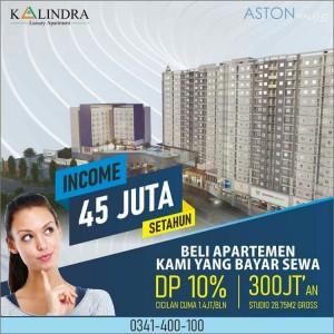 Sangat Potensial, Bisnis Sewa Apartemen The Kalindra Malang