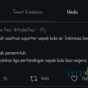 Pentolan Bonek Ajak Suporter Indonesia Bersatu, Netizen Kaitkan dengan Habib Rizieq