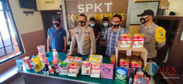 Polsek Gumukmas Bekuk Spesialis Pencuri Minimarket Asal Jakarta