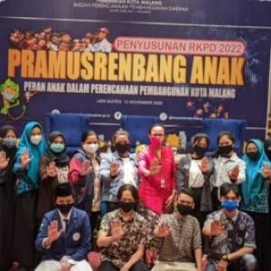 Pra-Musrenbang Tematik, Bappeda Kota Malang Libatkan Anak-Anak untuk Pembangunan