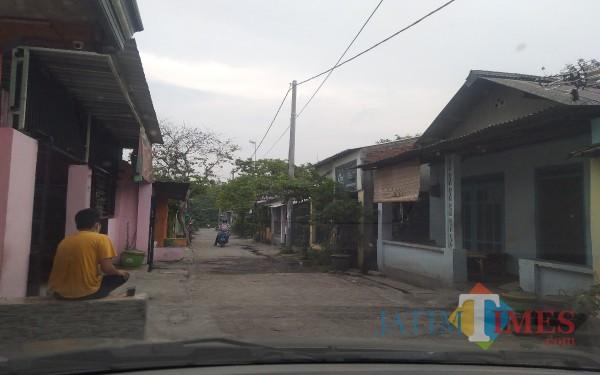 Suasana bekas lokalisasi Tunggorono. (Foto : Adi Rosul / JombangTIMES)