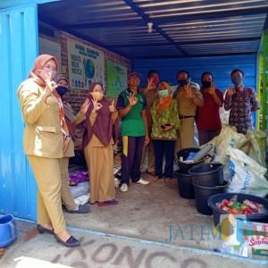 Bank Sampah di Kabupaten Blitar Semakin Menggeliat, DLH Laksanakan Monev