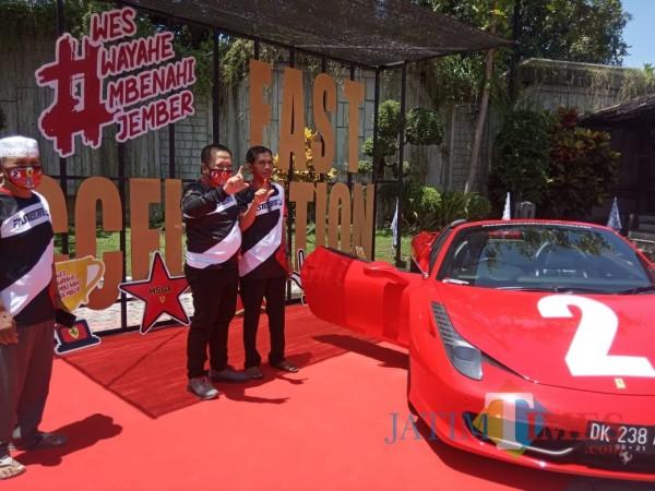 Naik Ferrari Bersama Rakyat, Hendy: Bukan untuk Kemewahan tapi Simbol Optimis