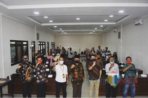 Inagurasi Sekolah Demokrasi Angkatan I digelar di Aula Kampus I Unisba Blitar