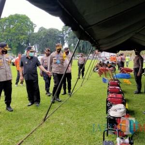 Pemkot Blitar dan TNI-Polri Gelar Apel Kesiapsiagaan Bencana Hidrometeorologi