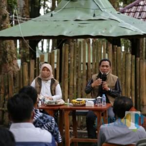 Deputi dari Kemenko Bidang Kemaritiman, Takjub Dengan Keindahan Ranupani