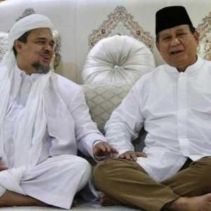 Mengejutkan, Hasil Survei Capres IndEX: Habib Rizieq Berpotensi Jadi Lawan Prabowo di 2024