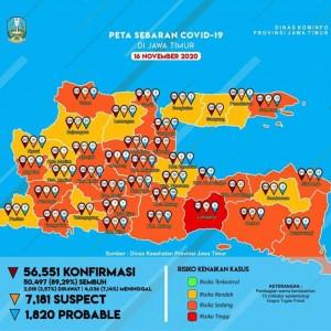 Turun ke Peringkat 12 Se-Jatim, Covid-19 di Kabupaten Malang Masuk Zona Oranye