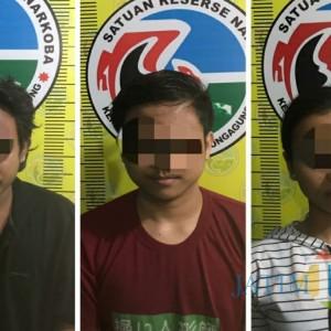 Edarkan Sabu, Dua Cowok dan Satu Cewek Diringkus Satresnarkoba Polres Tulungagung