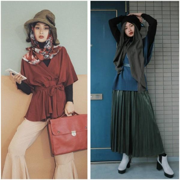 Ingin Bergaya Jepang tapi Berhijab? Intip Saja Inspirasi Outfit Ala Rahmalia Aufa Yazid
