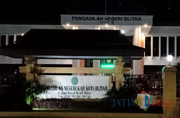 Kantor PN Blitar (tampak depan)