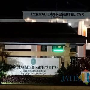Imbas Lockdown, PN Blitar Tunda 26 Agenda Sidang