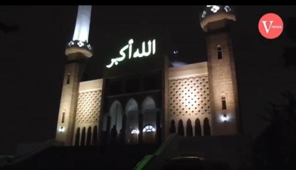 Kemegahan Masjid Sentral Seoul. (istimewa)