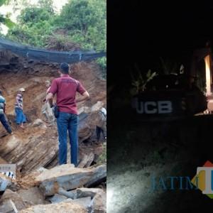 Breaking News, Penggali Batu di Tulungagung Dikabarkan Tertimbun Longsor, Pencarian Berlangsung