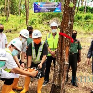 Ikut Buka Lahan Pembangunan Bendungan, Pjs Bupati Trenggalek: Bisa Dongkrak Perekonomian Warga