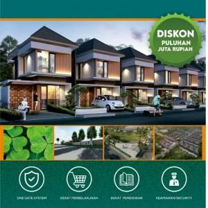Beli Rumah 1 Lantai ataupun 2 Lantai di Taman Tirta Malang, Nikmati Promo Gedenya