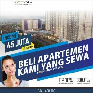 Beli Apartemen di The Kalindra Malang, Nikmati Income 45 Juta Setahun
