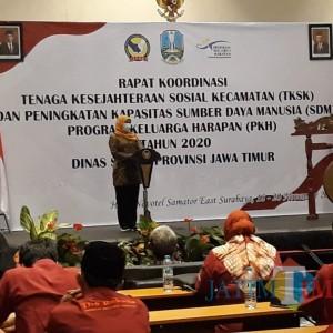 Terbaik Tingkat Nasional, Gubernur Khofifah Apresiasi TKSK Jawa Timur