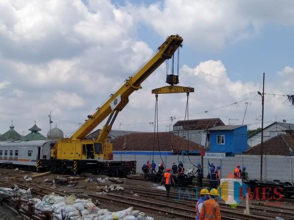 Evakuasi Gerbong KA Anjlok di Malang Rampung, Penyebabnya Masih Belum Ketemu