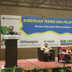 Input Rencana Pembangunan di SIPD, Bappeda Kota Malang Beri Pendampingan Perangkat Daerah