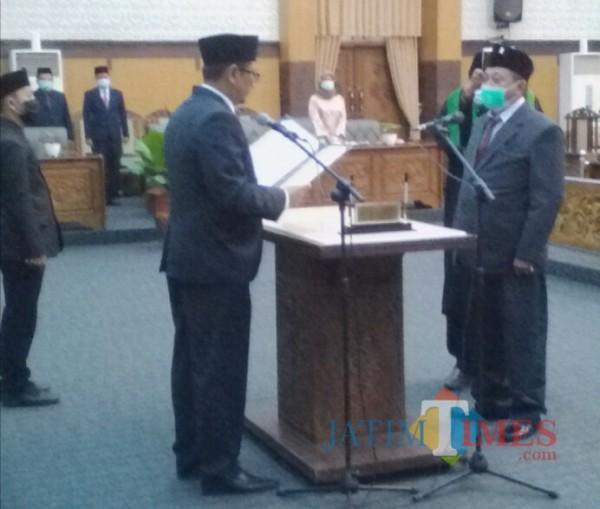Eko Hariyono Resmi Gantikan Sugirah di Dewan Kabupaten Banyuwangi