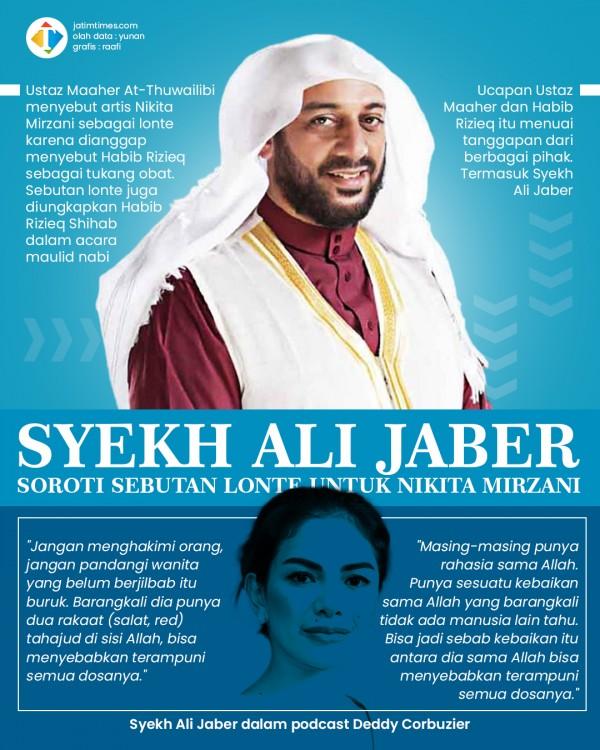 Tanggapan Syekh Ali Jaber soal Nikita Mirzani Disebut Lonte oleh Ustaz Maaher dan HRS