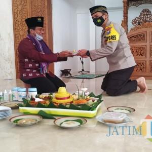 Doa Bersama PJU, AKBP Handono Subiakto Ajak Anggota Polres Tulungagung Pertebal Keimanan