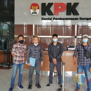 KIPP Jatim Datangi KPK, Minta Turun ke Surabaya Pantau Dugaan Penyelewengan APBD untuk Kampanye