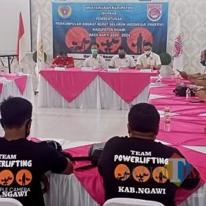 Pengurus Pengcab PABERSI Ngawi Terbentuk, Siap Raih Medali