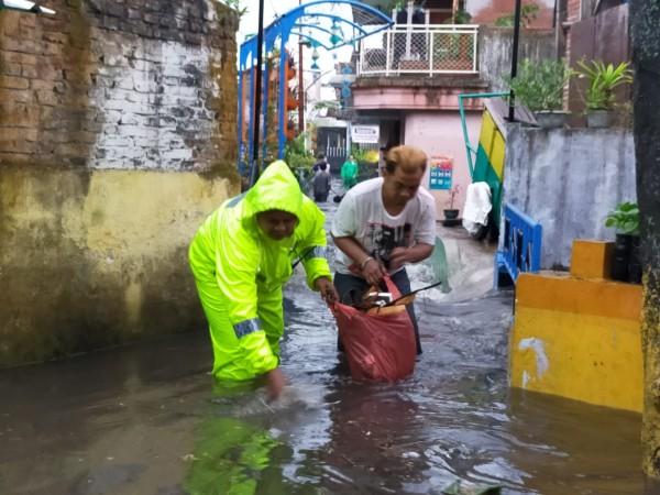 Salah satu kawasan di Kota Malang yang mengalami banjir. (Foto: Istimewa).