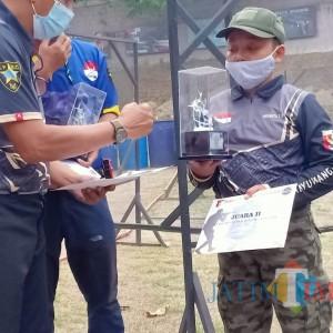 Arganta Candra Rizkulloh Kembali Raih Juara Ajang Tembak Reaksi di Provinsi Jatim