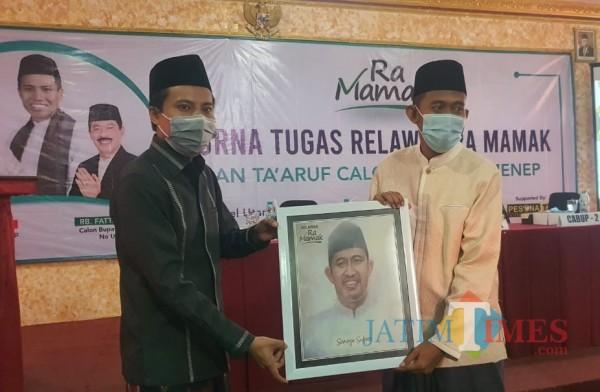 Hadiri Forum Purna Tugas Relawan Ra Mamak, Cabup Fauzi Unggulkan 'Bismillah Melayani'