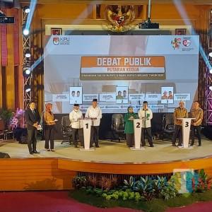 Debat Publik Kedua Pilkada Kabupaten Malang: Paslon Lebih Siap Materi, Kurang Manajemen Waktu